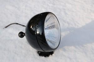 Ural Suchscheinwerfer Beiwagen