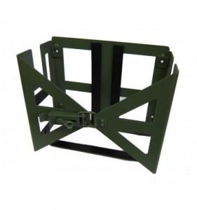 Halterung für Benzinkanister und Munitionskiste (grün)