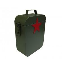 Munitionskiste (grün mit rotem Stern)