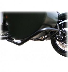 Stoßstange vorne - schwarz (leichte Ausführung)